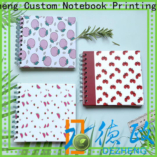 Dezheng Custom personalized journal notebook Supply For Gift