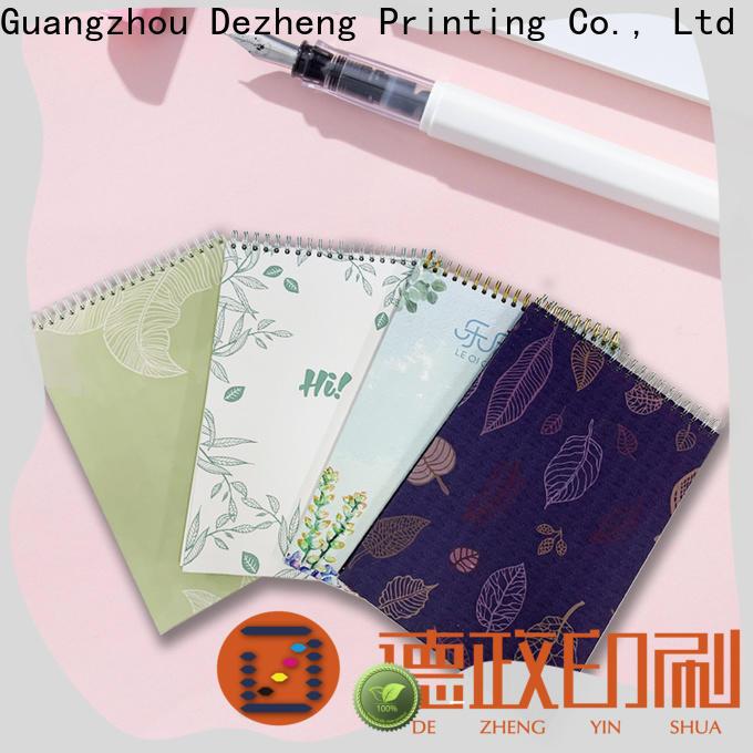 Dezheng spiral Notebook Factory factory for notetaking
