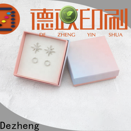Dezheng customization paper jewelry box manufacturers