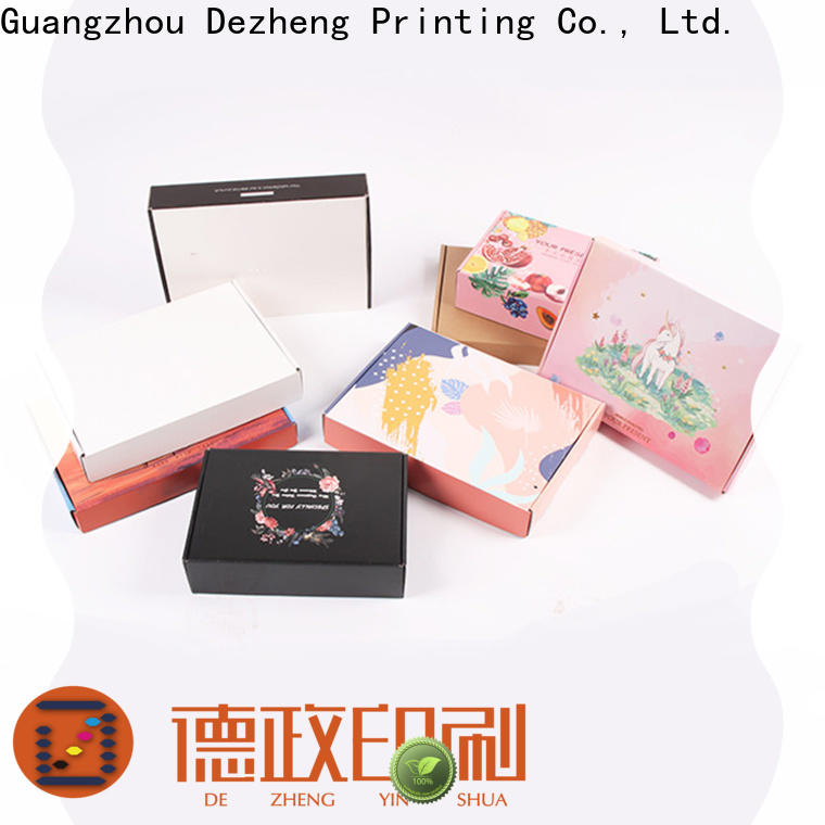 Dezheng Suppliers kraft paper jewelry boxes manufacturers