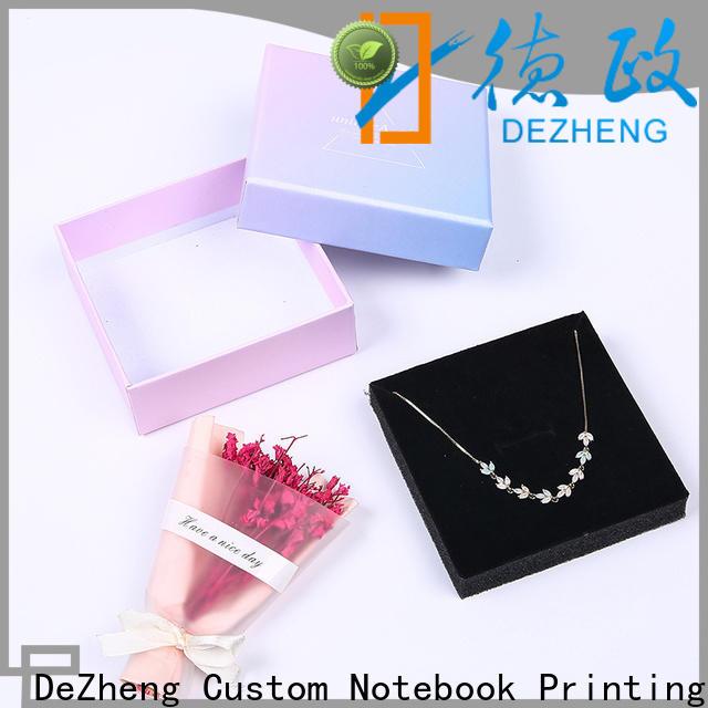 Dezheng custom paper box for business
