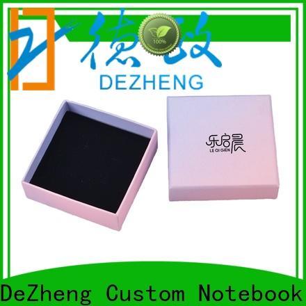 Dezheng customization paper box jewelry Suppliers