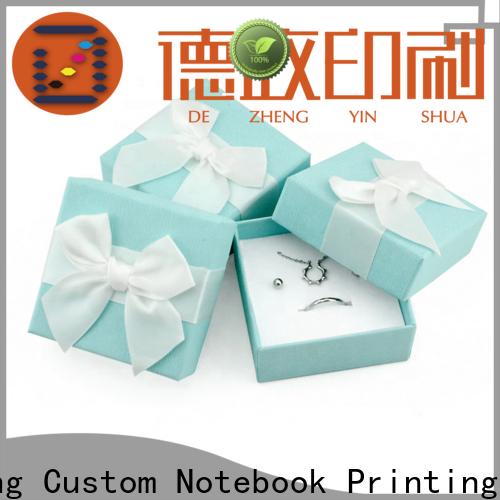 Dezheng customization custom printed boxes Supply