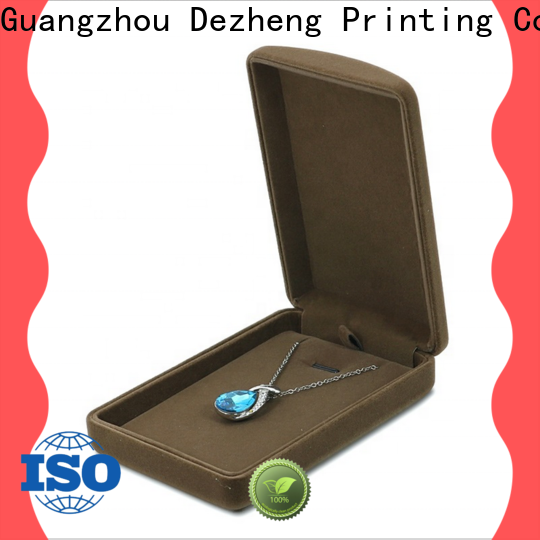 Dezheng recycled paper jewelry boxes Suppliers