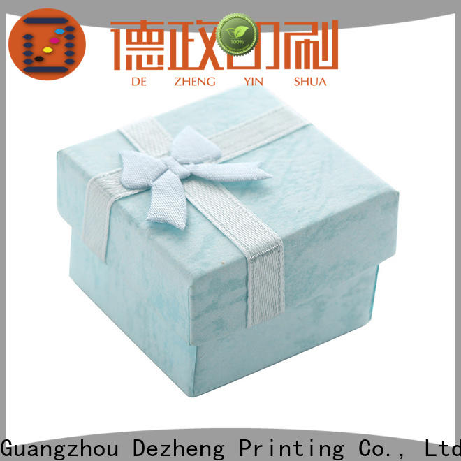 Dezheng company custom boxes with logo Suppliers