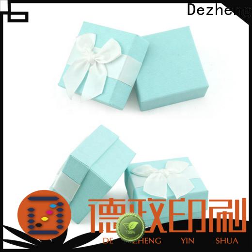 Dezheng cardboard box price factory