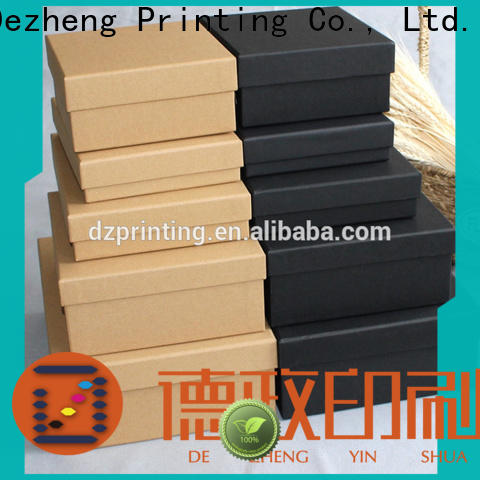 Dezheng for business cardboard packing boxes for sale customization
