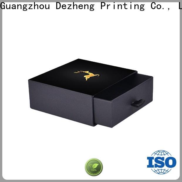 Dezheng cardboard gift boxes customization