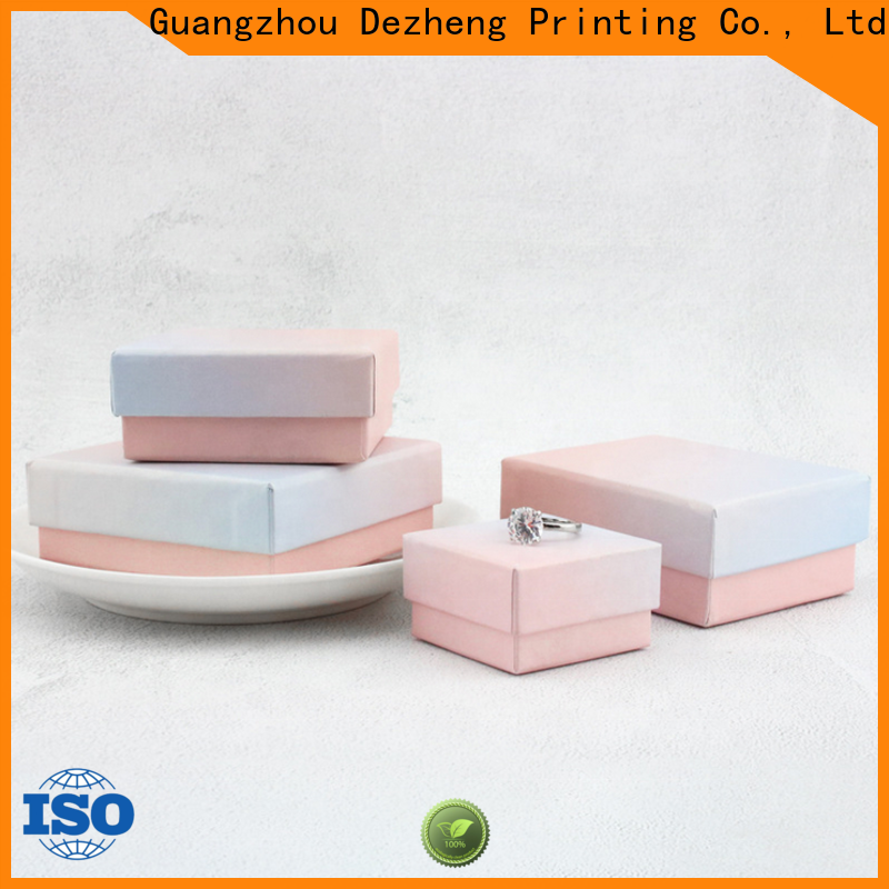 Dezheng factory custom jewelry boxes