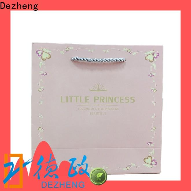 Dezheng Supply paper box jewelry factory