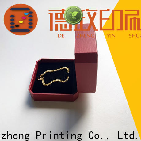 Dezheng for business kraft paper jewelry boxes factory