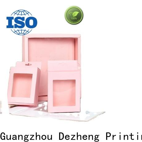 Dezheng company paper jewelry box manufacturers