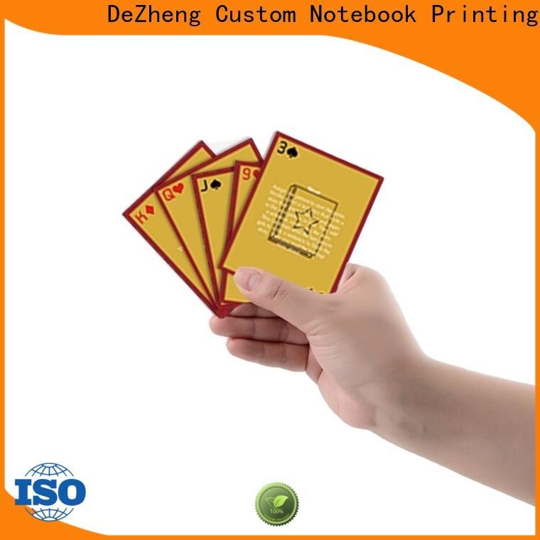 Dezheng scratch poster for business