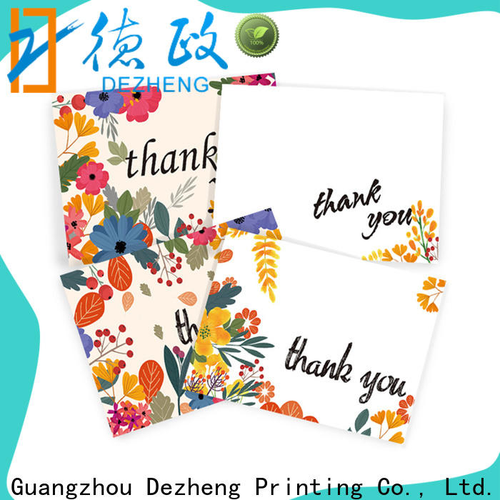 portable thank you card maker thank factory for festival