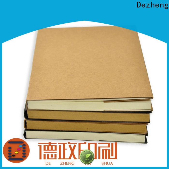 Dezheng free design sketchbook custom factory For notebook printing