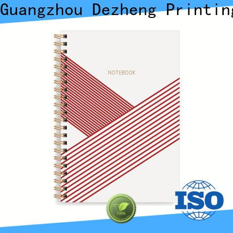 Dezheng simple custom notebook manufacturers for career