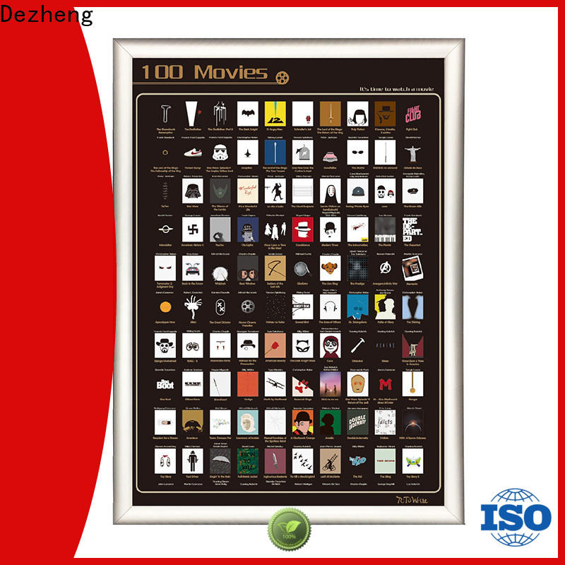 Latest scratch off movies poster list Supply for movie collect