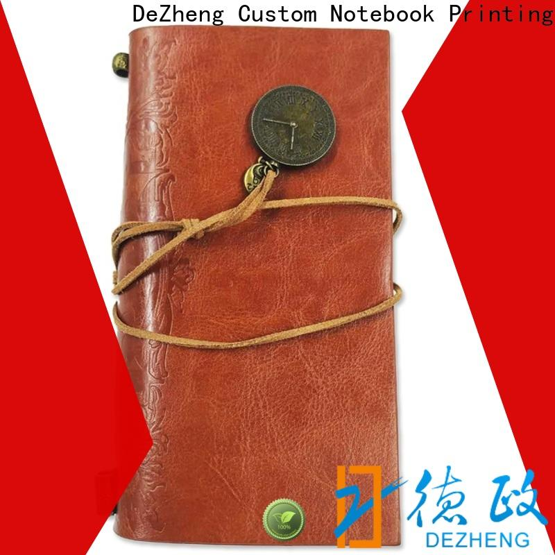 High-quality professional leather notebook for business For student