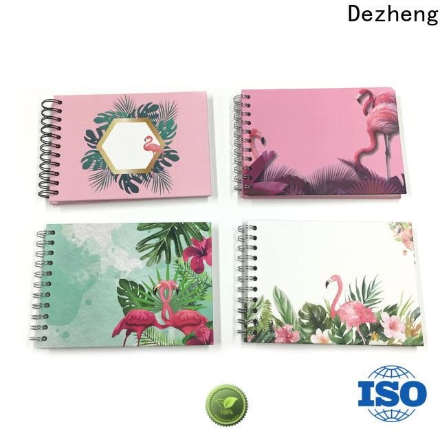 Dezheng latest self adhesive photo albums customization for friendship