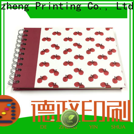 Top self-adhesive photo album hardcover factory for gift
