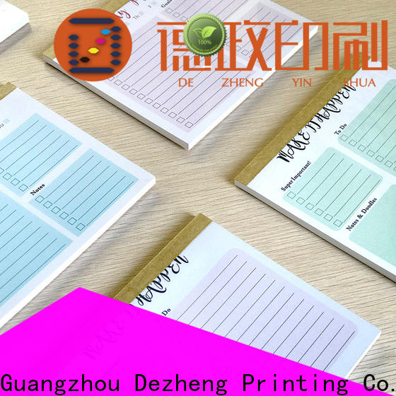 Dezheng Latest to do list notebook customization