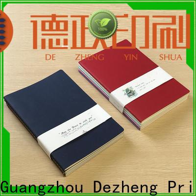 Dezheng unique paper notebooks company For student