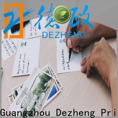 Dezheng Best custom printed holiday cards for gift