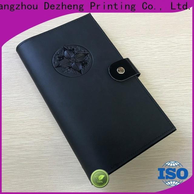 Dezheng Best leather book bulk production For business