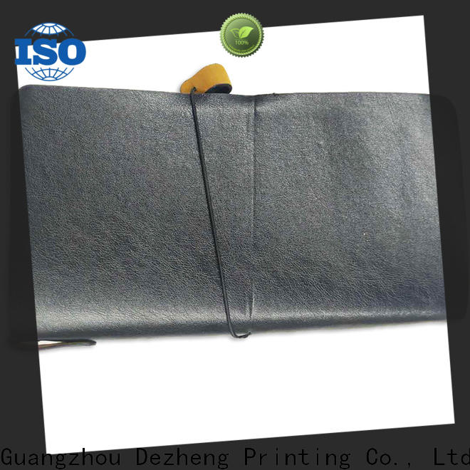 Dezheng Wholesale personalised leather notebook Suppliers For meeting