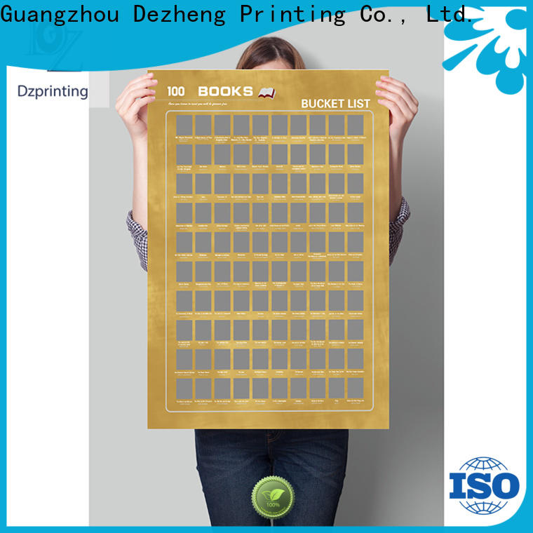 Dezheng bucket 100 books Suppliers For movies collect