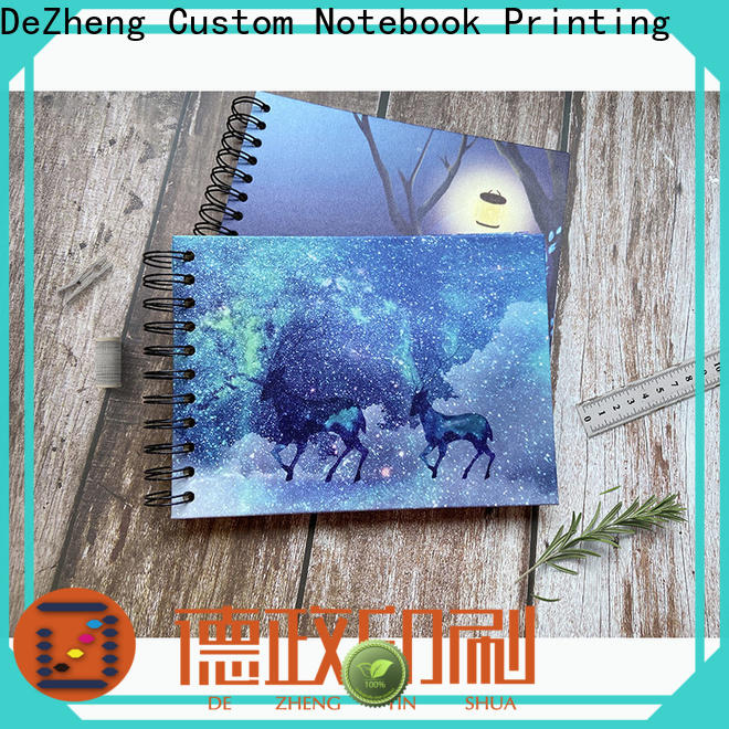 New Spiral Notebook Manufacturers journal customization for personal design