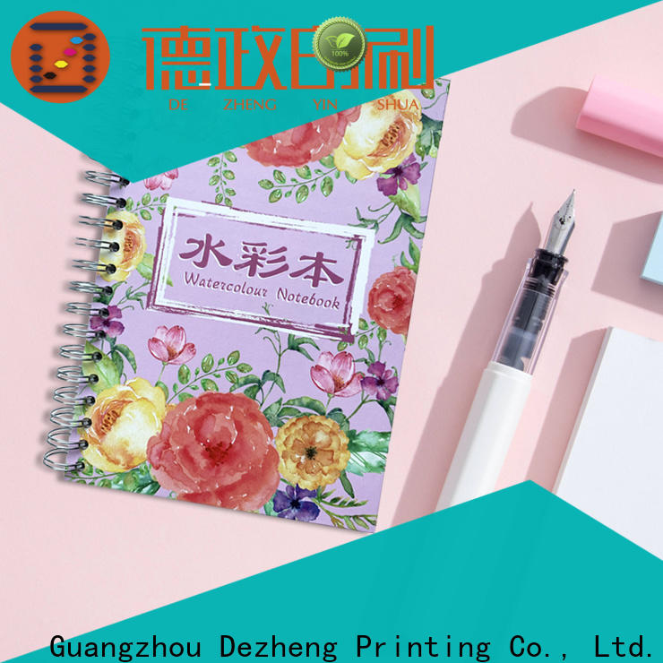 Dezheng custom engraved notebooks manufacturers for journal