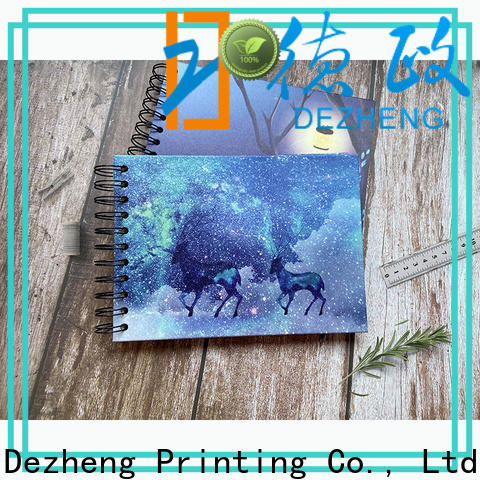 Dezheng Top self adhesive photo albums for sale Suppliers for friendship