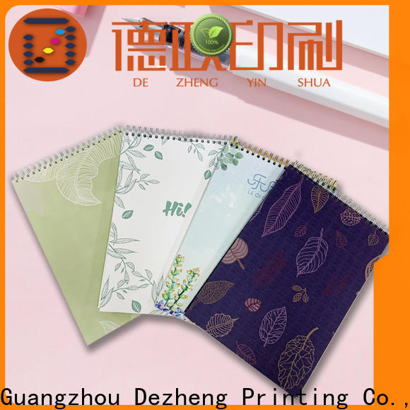 Dezheng custom notepad covers Suppliers for journal