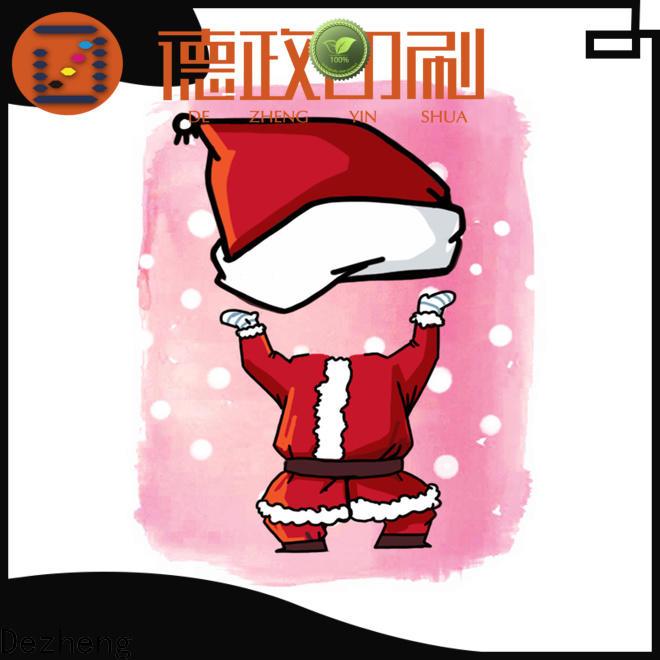 Dezheng multi high quality custom christmas cards For festival gift