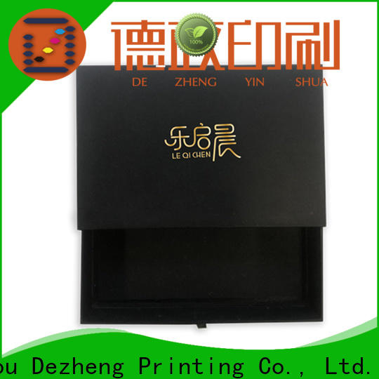 Dezheng paper jewelry box manufacturers for business