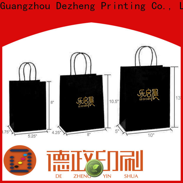 Dezheng Suppliers packing paper box for business