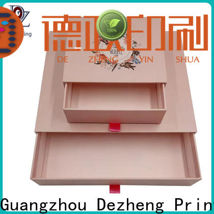 Dezheng custom printed paper boxes manufacturers