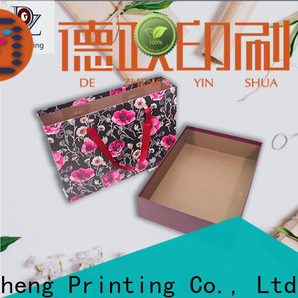 Dezheng company custom jewelry boxes manufacturers