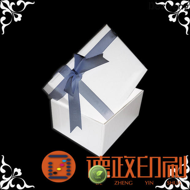 Dezheng custom jewelry boxes company