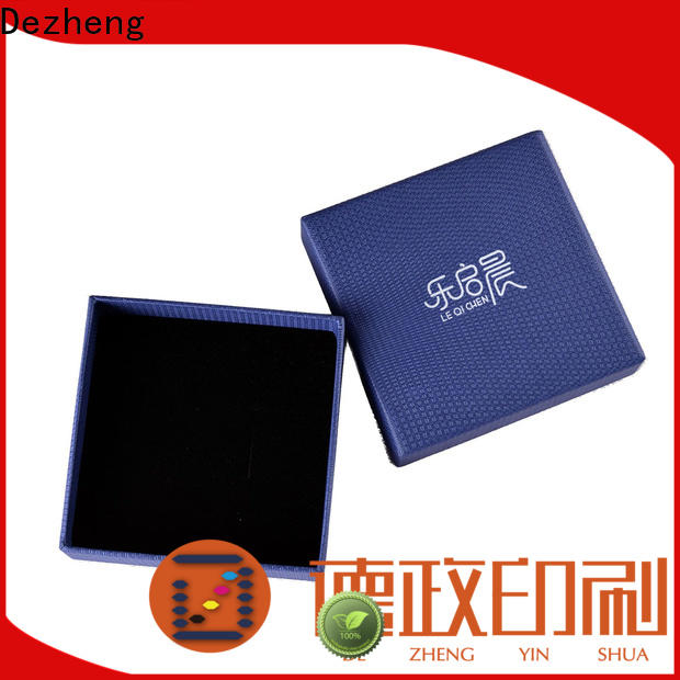 factory paper jewelry box Supply