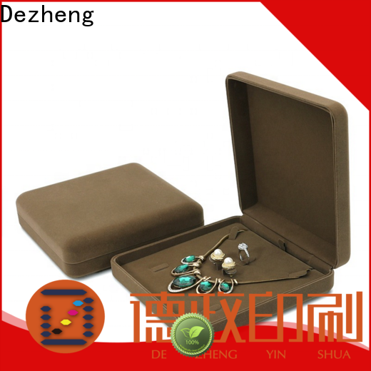 Dezheng for business paper jewelry box manufacturers factory