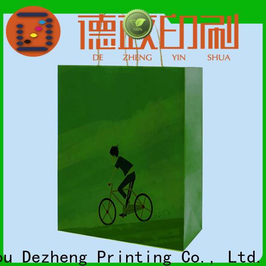 Dezheng company paper gift box factory