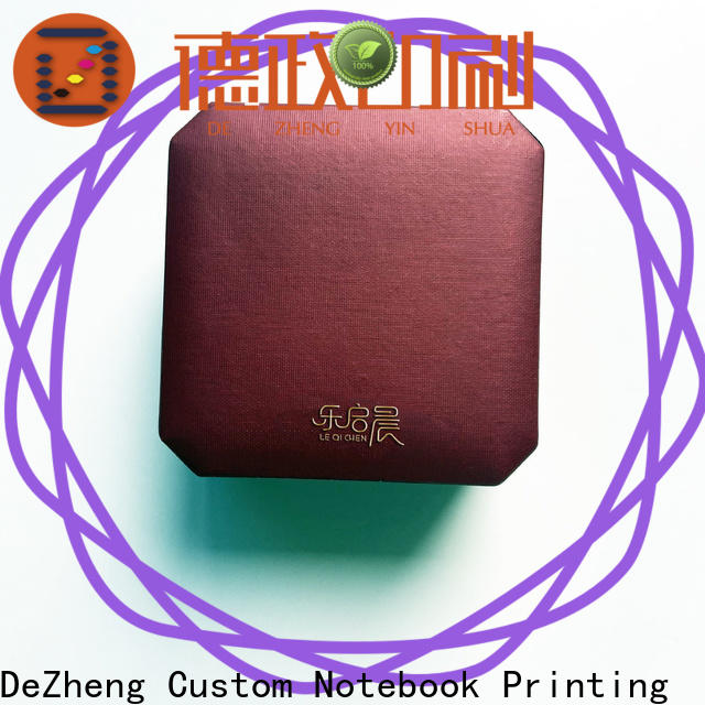 Dezheng manufacturers paper jewelry box for business