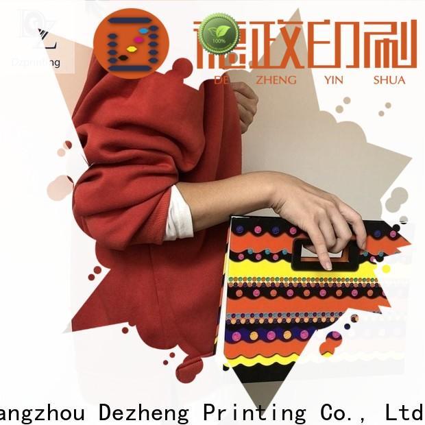 Dezheng cardboard shoe boxes customization
