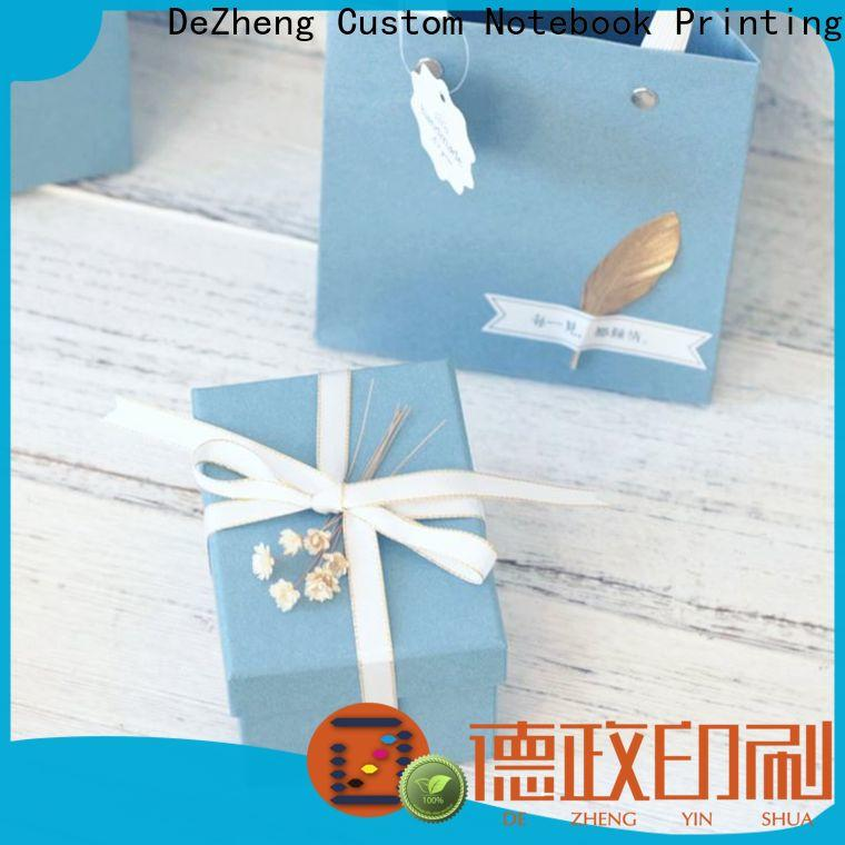 Dezheng factory custom boxes with logo company