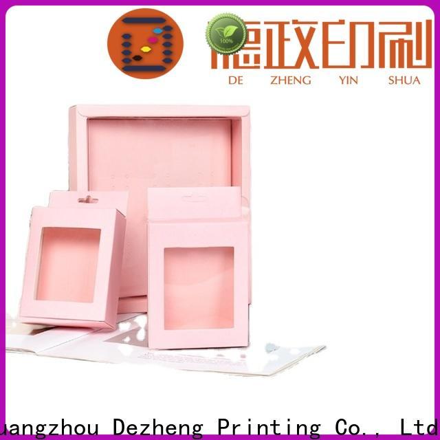 Dezheng paper gift box customization