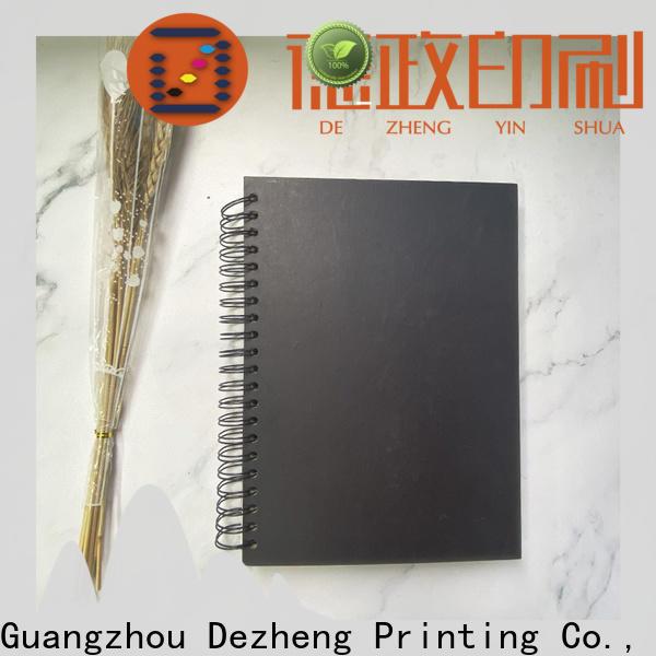 Dezheng Top kraft paper scrapbook album customization For DIY