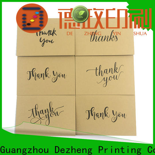 Top thank you greeting cards floral factory for gift