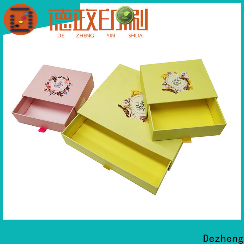Dezheng factory custom cardboard boxes manufacturers